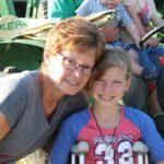 Mom Darlene with grand daughter Danyka